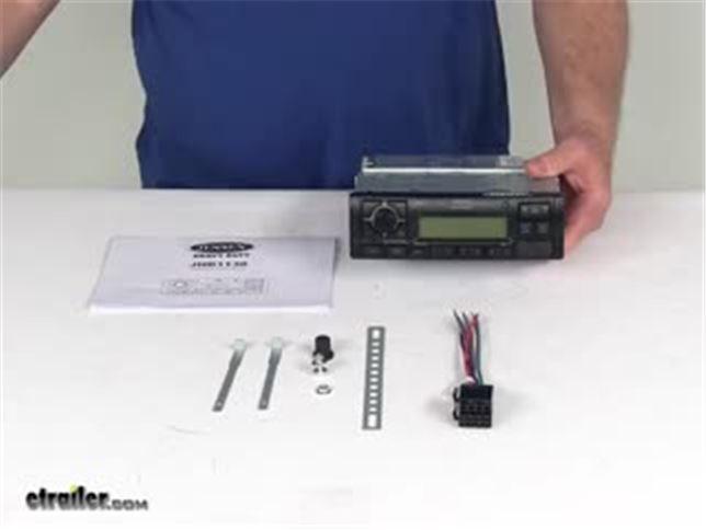 Jensen Heavy Duty Stereo Am Fm Rbds Weatherband 12
