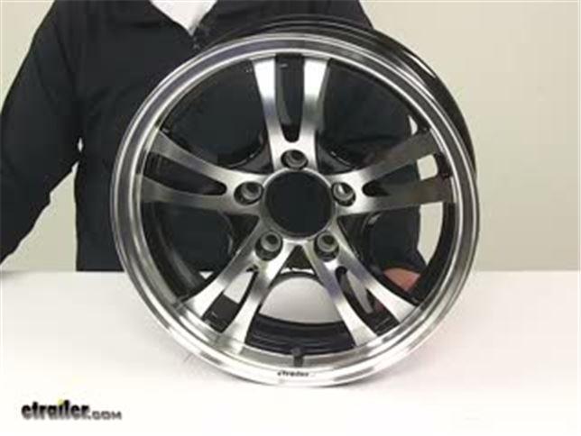 Aluminum Jaguar Trailer Wheel 15 Quot X 5 Quot Rim 5 On 4 1 2