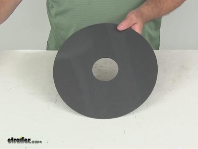 Lippert Never Fail Whisper Disk Lube Plate For 5th Wheel