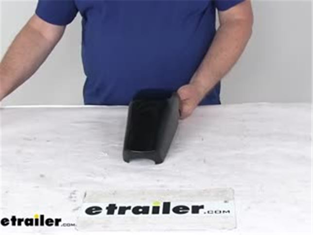 Replacement Cover for Solera Awnings - Idler Head - Front Cover - Black