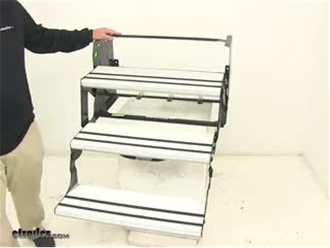 """Alumi-Tread Manual Pull-Out Step for RVs - 8-3/4"""" Drop ..."""