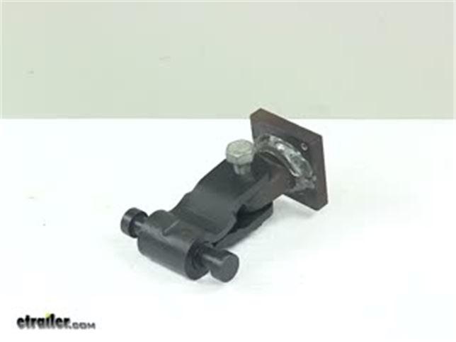 Lock N Roll Articulating Trailer Coupler Flat Plate