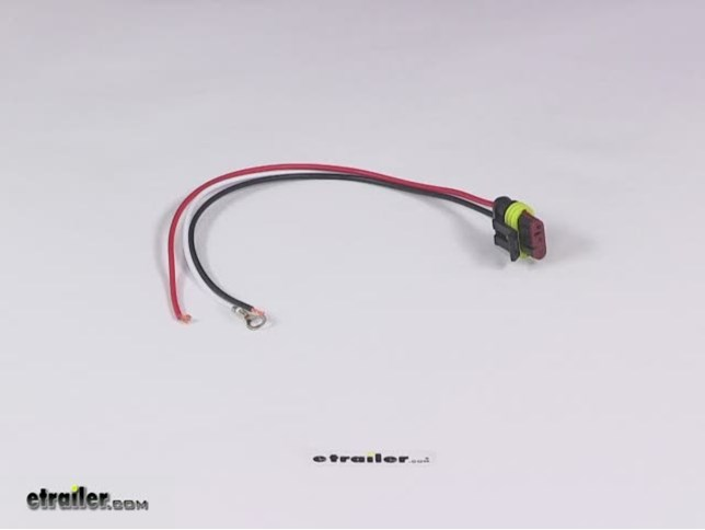 2 Wire Pigtail For Optronics Trailer Lights Manual Guide