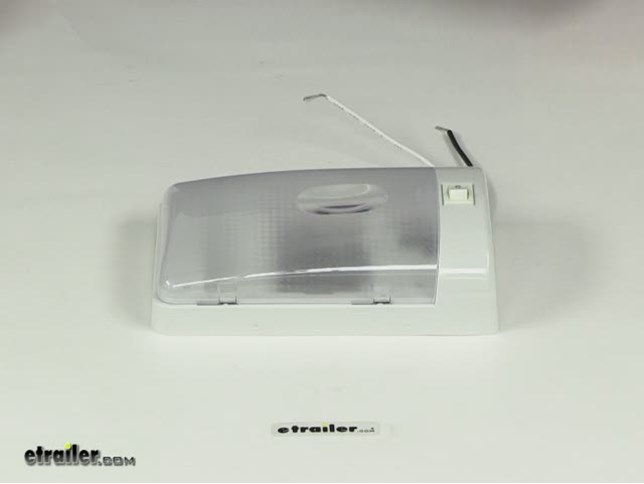 Built In Lights For Ceiling : Rv euro style interior single ceiling light with built in
