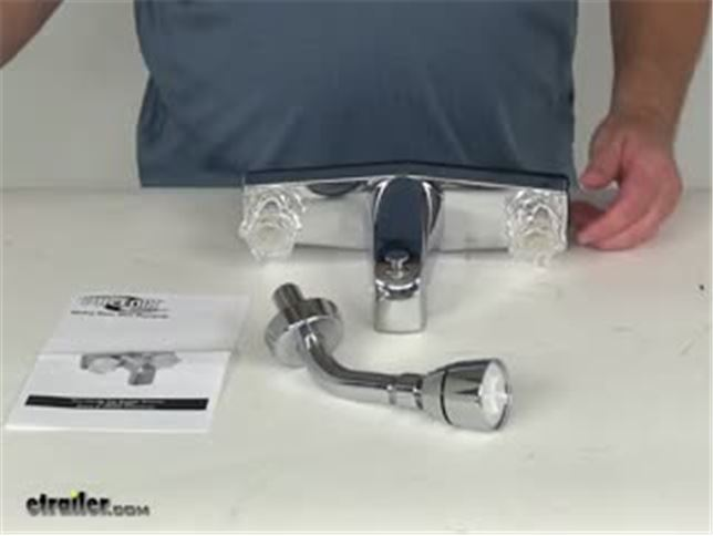 Phoenix Faucets RV Showers and Tubs PF214351 Review Video ...