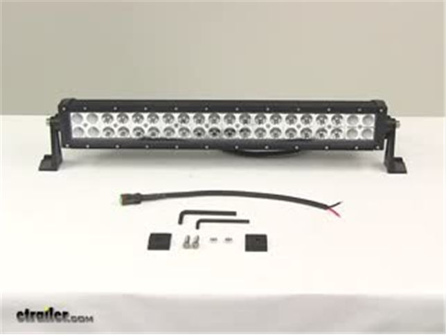 led light bar installation instructions