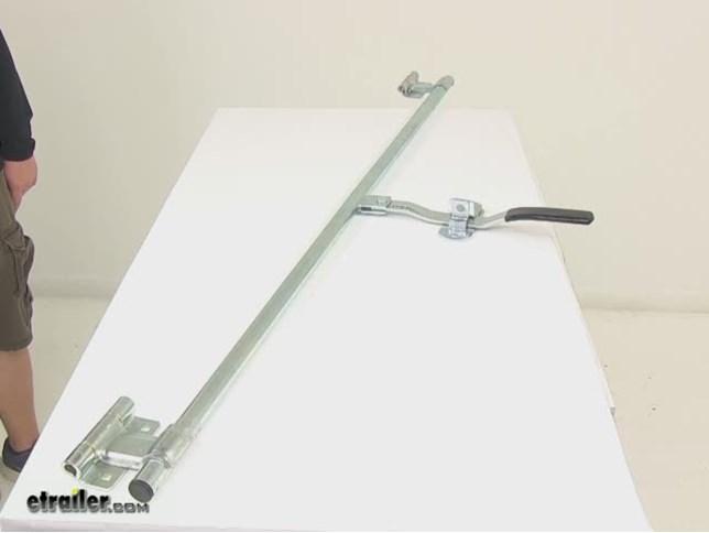 55 Quot Lock Side Door Bar Lock Assembly Polar Hardware