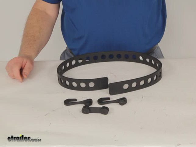 Quick Fist Tie Down Belt 38 Quot Long Rubber 150 Lbs