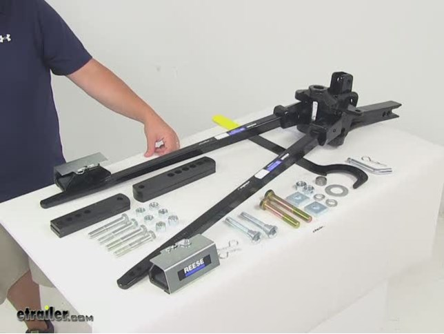 Reese SC Weight Distribution System w Sway Control ...