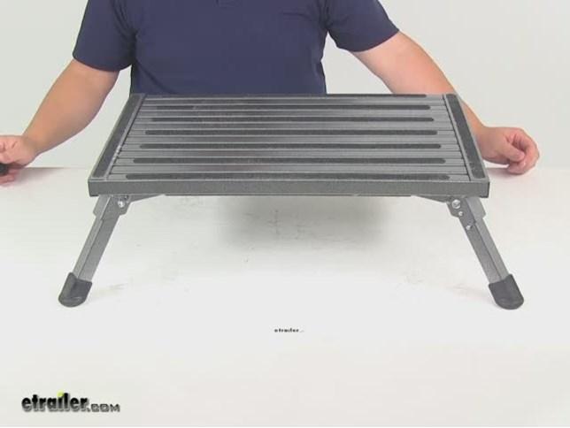 Compare Safety Step Folding Vs Camco Folding Step