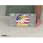Siskiyou License Plates and Frames - Flags and Military - MSP602 Review