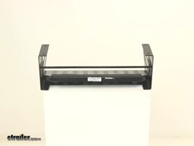 flexco manual pull-out step for rvs - single  2 u0026quot  drop