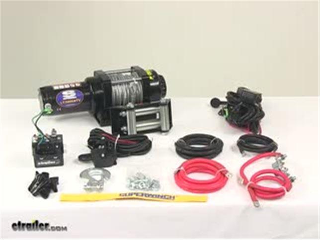 Superwinch LT3000 ATV Winch - Wire Rope - Roller Fairlead - 3,000 ...
