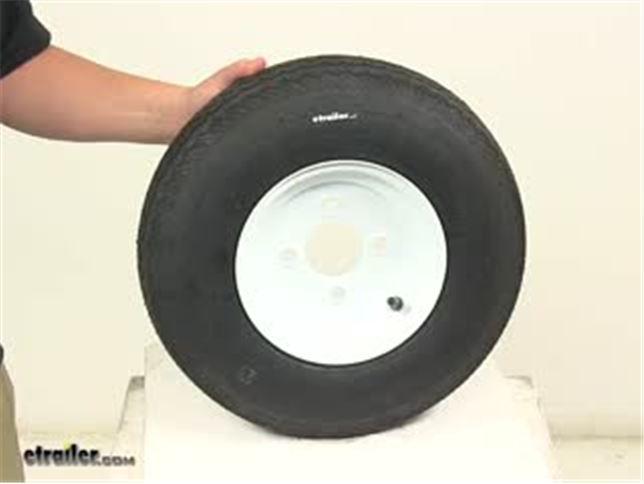 Taskmaster 4 80 4 00 8 Bias Trailer Tire W 8 Quot Solid