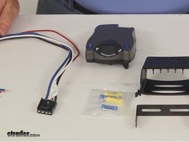 prodigy trailer brake controller manual