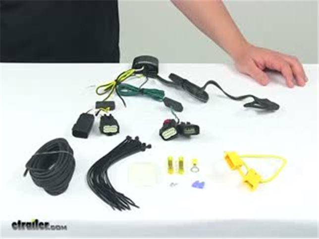 Tekonsha Custom Fit Vehicle Wiring 118782 Review Video   etrailer.com