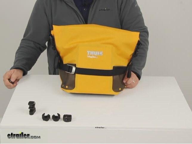 Thule Bike Accessories - Pannier Bag - TH100065 Review Video ... 36d6ae569