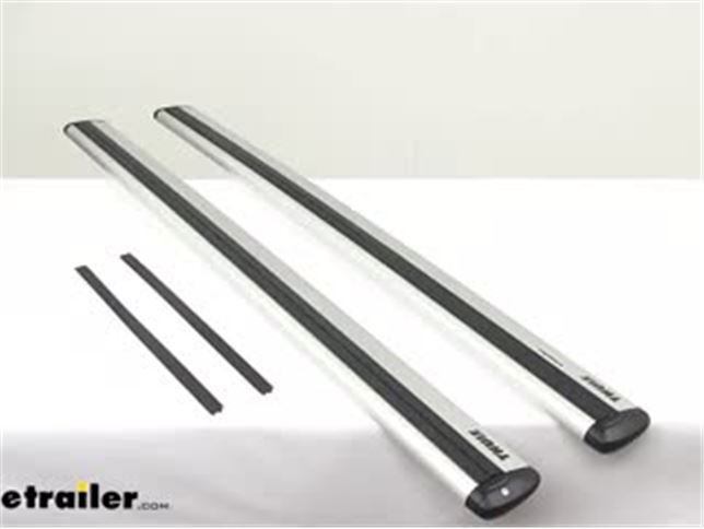 Review Of Thule Roof Rack Crossbars Th711400 Video Etrailer Com