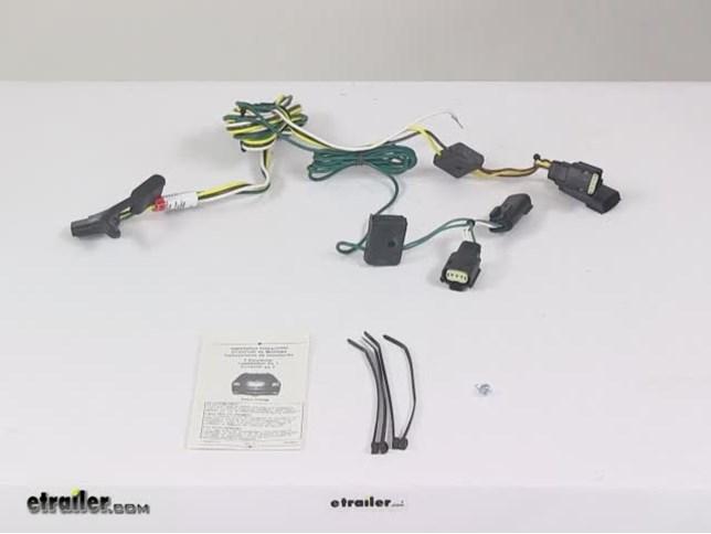 2007 saturn outlook custom fit vehicle wiring tekonsha