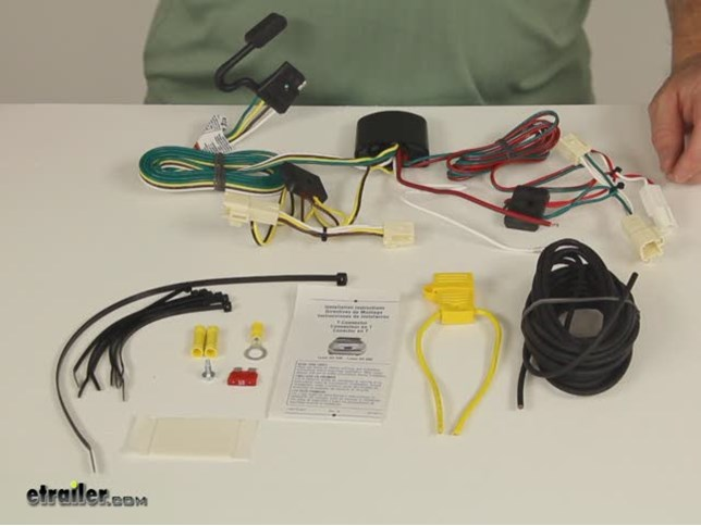 Demo Tow Ready Custom Fit Vehicle Wiring 118478_644 compare curt t connector vs t one vehicle wiring etrailer com,T One Vehicle Wiring Harness With 4 Pole Trailer