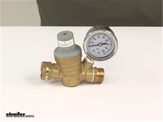 valterra adjustable water regulator for rvs brass lead free valterra rv plumbing a01 1117vp. Black Bedroom Furniture Sets. Home Design Ideas