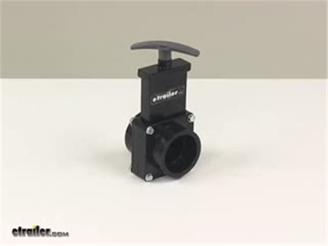 Tekonsha P3 Brake Controller >> Valterra Waste Valve for RV Gray Water Tank - 1-1/2