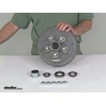 etrailer Trailer Hubs and Drums - Hub with Integrated Drum - AKHD-545-35-G-EZ-K Review