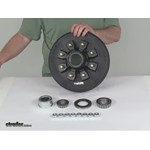 Video Demo etrailer Trailer Hubs and Drums AKHD 865 7 2 EZ K