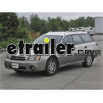 Trailer Hitch Installation - 2001 Subaru Outback Wagon