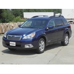 Trailer Hitch Installation - 2010 Subaru Outback Wagon