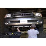 Front Mount Trailer Hitch Installation - 2005 Toyota Tundra
