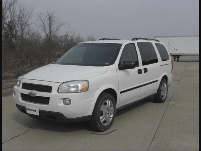 recommendation for complete towing setup on a 2007 chevrolet rh etrailer com 2006 Chevrolet Uplander Van 2006 Chevrolet Uplander MPG