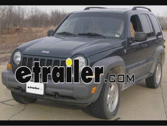 Trailer Hitch Installation 2006 Jeep Liberty Video Etrailer Com Rh Etrailer  Com Jeep Liberty Hitch Kit Install Trailer Hitch 2011 Jeep Liberty