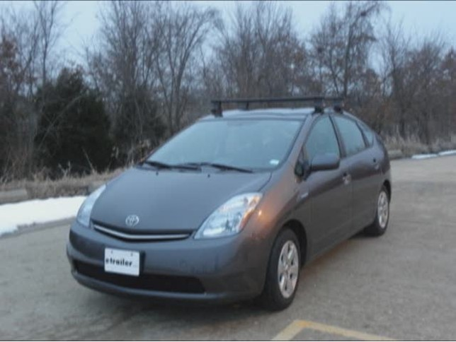 Prius Roof Rack >> Thule Traverse Roof Rack Installation 2008 Toyota Prius Video