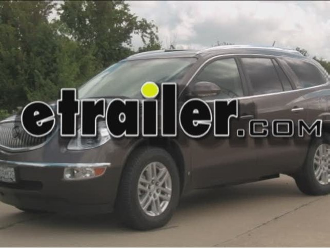trailer wiring harness installation 2009 buick enclave video trailer wiring harness installation 2009 buick enclave video etrailer com