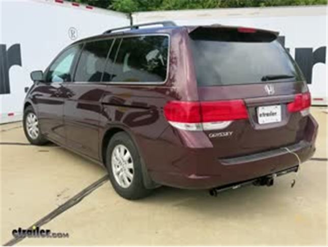 best 2006 honda odyssey trailer wiring options video etrailer com rh etrailer com 2012 honda odyssey trailer hitch wiring harness honda odyssey hitch wiring