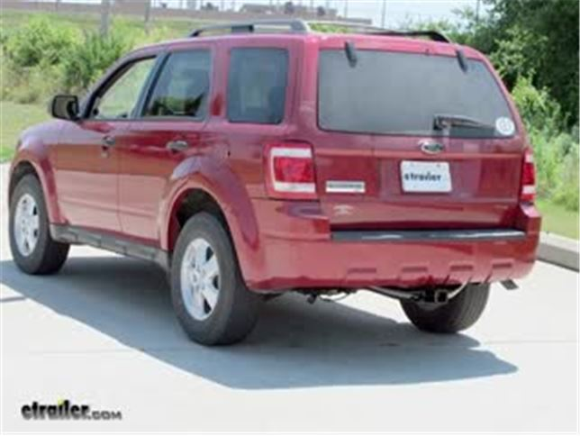 best 2009 ford escape trailer hitch options_644 2009 ford escape trailer hitch etrailer com Trailer Light Wiring Kits at readyjetset.co