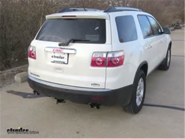 Best 2011 GMC Acadia Trailer Wiring Options Video etrailercom