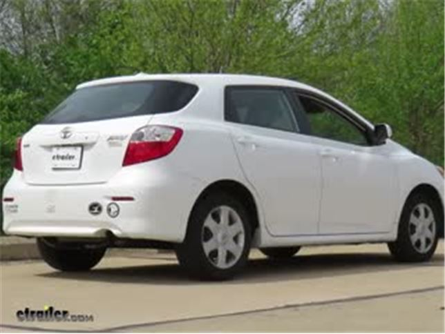Best 2011 Toyota Matrix Trailer Hitch Options Video Etrailer