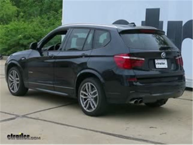 best 2012 bmw x3 trailer hitch options video etrailer com rh etrailer com 2009 X5 M Sport Package Side by Side 2010 X3
