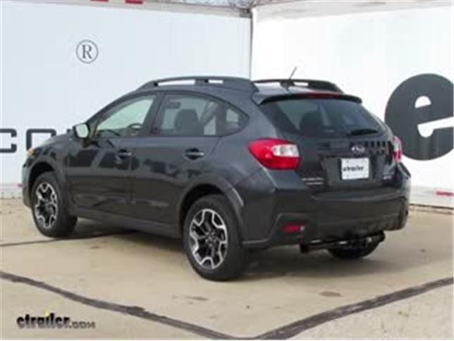 Best 2013 Subaru Xv Crosstrek Trailer Hitch Options Video Etrailer Com