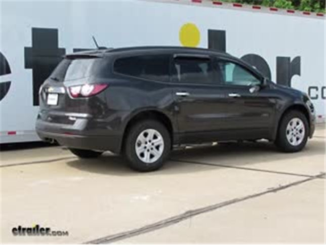 best 2014 chevrolet traverse trailer wiring options video etrailer com rh etrailer com 2005 Chevy Silverado Trailer Wiring Diagram 6 Wire Trailer Wiring Diagram