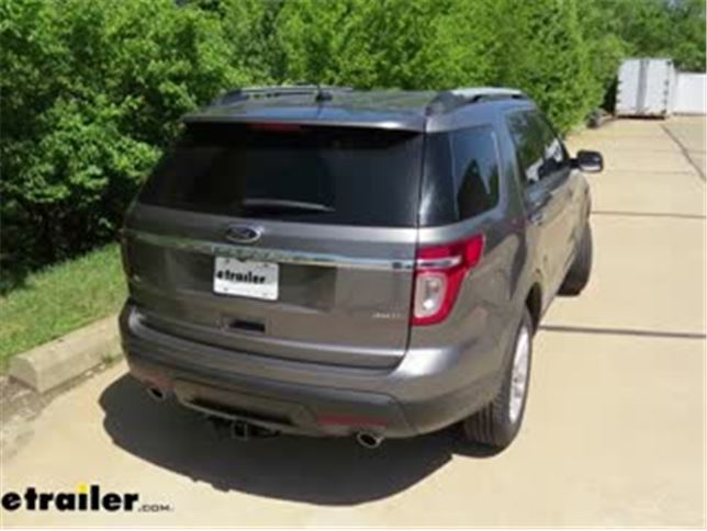 best 2014 ford explorer trailer hitch options video | etrailer.com  etrailer.com