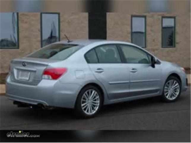 Subaru Impreza Towing Capacity