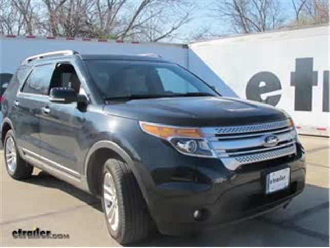 Best 2015 ford explorer roof rack options video etrailer sciox Image collections