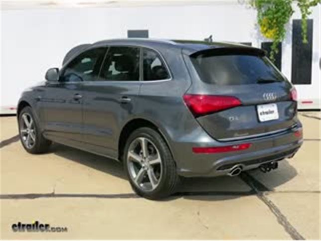Installation Of A Trailer Hitch On A 2011 Audi Q5  Html