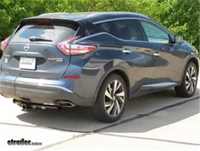 best 2016 nissan murano custom fit vehicle wiring_644 best 2016 nissan murano trailer wiring harness video etrailer com
