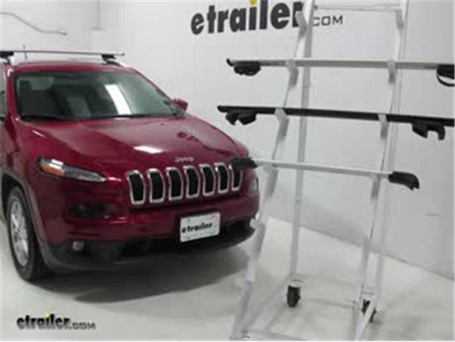 Best 2017 Jeep Cherokee Roof Rack Options Video Etrailer Com