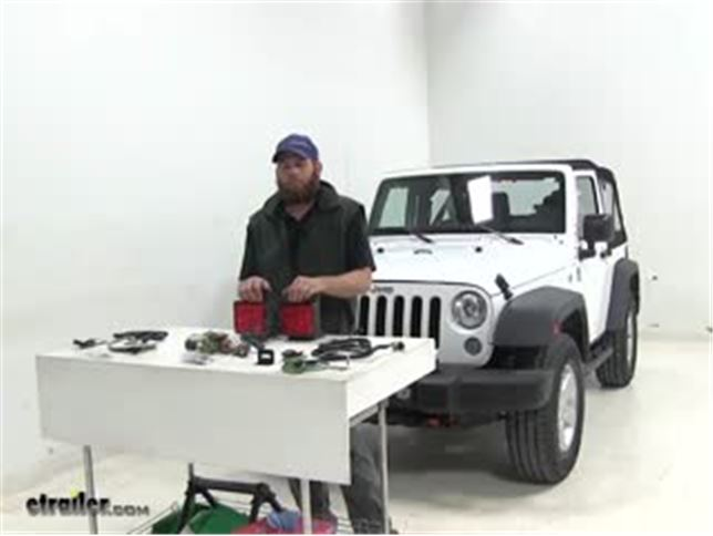 jeep wrangler vehicle tow bar wiring etrailer com rh etrailer com Willys Jeep Wiring Diagram Jeep Cherokee Stereo Wiring