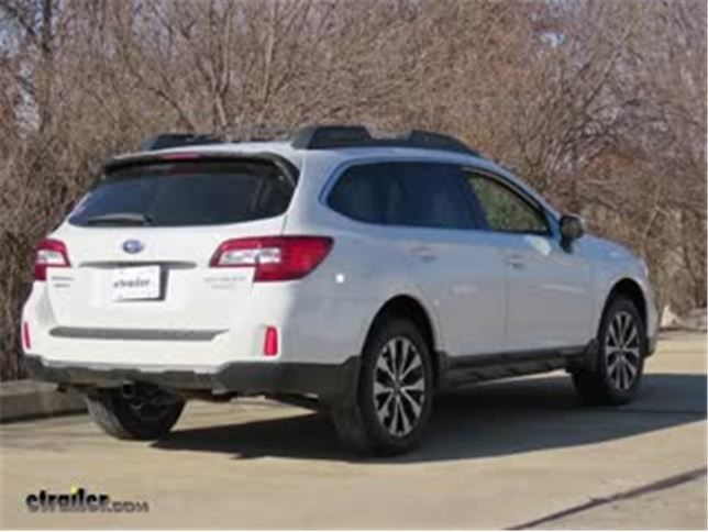 Best 2017 Subaru Outback Wagon Trailer Hitch Options Video Etrailer